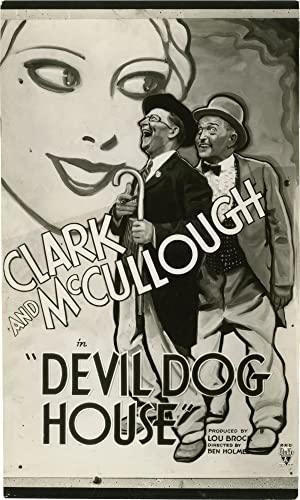 In the Devildog House [Devil Dog House] (Photographic proof of a trial poster from the 1934 film ...