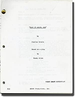 Play It Again, Sam (Screenplay for the 1972 film)