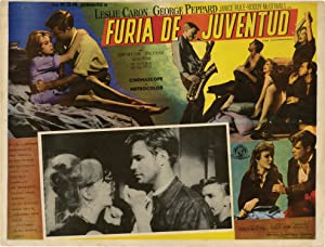 Furia De Juventud [The Subterraneans] (Collection of 6 Spanish language lobby cards from the 1960...