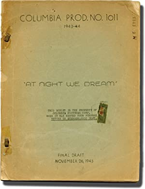 A Song to Remember [At Night We Dream] (Original screenplay for the 1945 film)