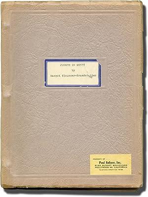 Joseph in Egypt (Original screenplay for an: Klausner-Brandstatter, Margot (screenwriter);