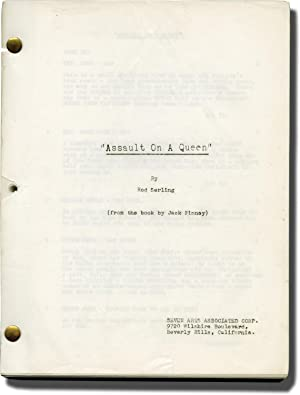 Assault on a Queen (Original screenplay for the 1966 film)