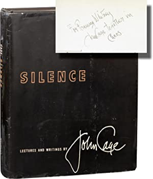 Silence (First Edition, inscribed to Ellsworth Snyder)