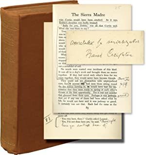 The Treasure of the Sierra Madre (First UK Edition, translator Basil Creighton's annotated copy)