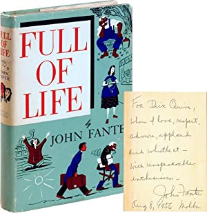 Full of Life (First Edition, inscribed to Richard Quine)