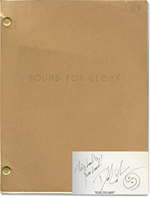 Bound for Glory (Original screenplay for the 1976 film, signed by David Carradine)