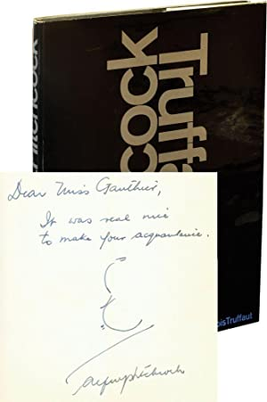 Hitchcock/Truffaut (First Edition, Inscribed by Hitchcock): Truffaut, Francois (interviewer,