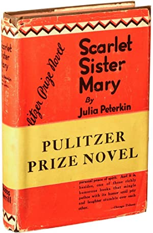 Scarlet Sister Mary (First Edition): Peterkin, Julia