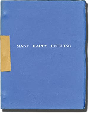 The Selling of a Musical '74 [Many Happy Returns] (Original script for an unproduced play)