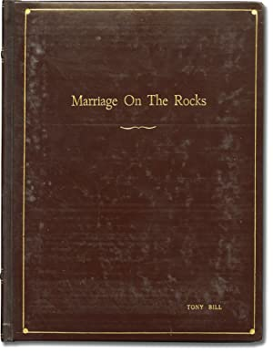 Marriage on the Rocks (Original screenplay for the 1965 film, actor Tony Bill's presentation copy)