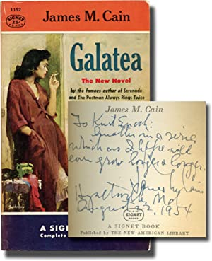 Galatea (First Edition in paperback, inscribed to Signet Books founder Kurt Enoch)