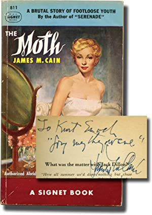 The Moth (First Edition in paperback, inscribed to Signet Books founder Kurt Enoch)