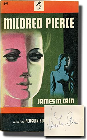 Mildred Pierce (First Edition in paperback, signed, from the collection of Penguin Books founder ...