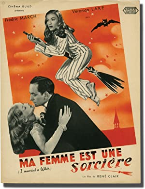 I Married a Witch [Ma Femme est une Sorciere] (Original film program from the 1942 film)