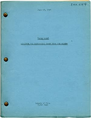 Moss Rose (Post-production script for the 1947 film): Ratoff, Gregory (director); Niven Busch, Tom ...