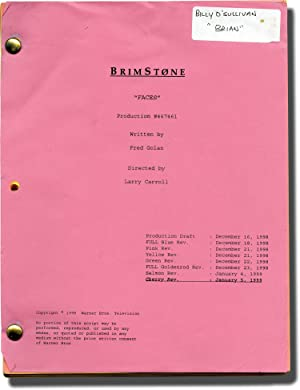 Brimstone: Faces (Original screenplay for the 1999 television series)
