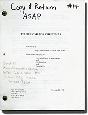 I'll Be Home for Christmas (Original screenplay for the 1998 film)