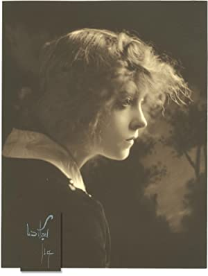 Original photograph of Lillian Gish by photographer Albert Witzel, 1917
