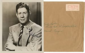Original inscribed photograph of Rudy Vallee, circa 1953