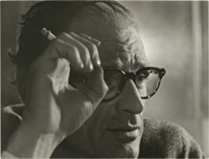 Two original photographs of Arthur Miller, 1961