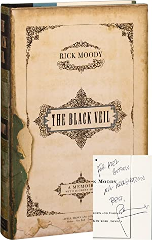 The Black Veil (First Edition, inscribed to Mel Gussow)