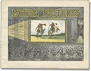 Motion Pictures (First Edition, pamphlet on Patent Medicine and Early Film History): Dr. Miles ...