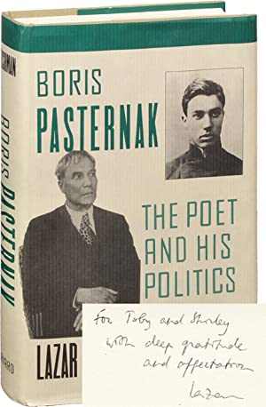 Boris Pasternak: The Poet and His Politics (Signed First Edition)