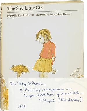 The Shy Little Girl (Signed Hardcover): Krasilovsky, Phyllis; Trina Schart Hyman (illustrated by)