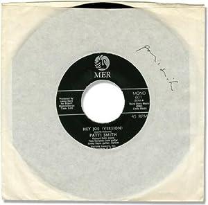 "Hey Joe (Version)"" b/w ""Piss Factory"" - Patti Smith's first 7"" single..."