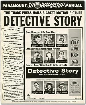 Detective Story (Original Film Pressbook): Wyler, William (director); Sidney Kingsley (play); ...