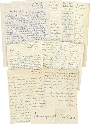 An archive of 6 autograph letters signed to book illustrator and friend Don Freeman, 1956-1957, and...