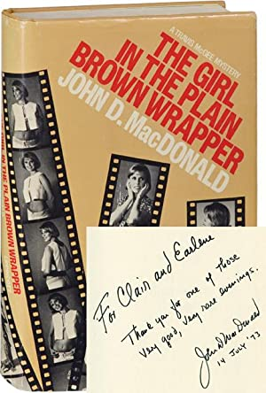 The Girl in the Plain Brown Wrapper (First American Hardcover Edition, inscribed in the year of p...