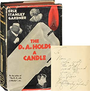 The D.A. Holds a Candle (First Edition, inscribed)