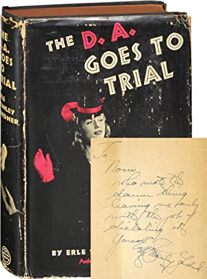 The D.A. Goes to Trial (First Edition, inscribed)