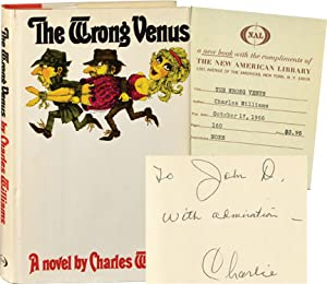The Wrong Venus (First Edition, inscribed to John D. MacDonald)
