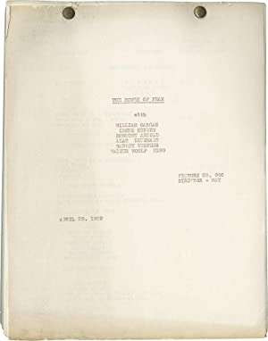 The House of Fear (Post-production script for the 1939 film)