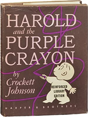 Harold and the Purple Crayon (First Edition, library issue)