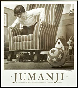 Jumanji (Silkscreen poster print advertising for the book, signed by Van Allsburg)