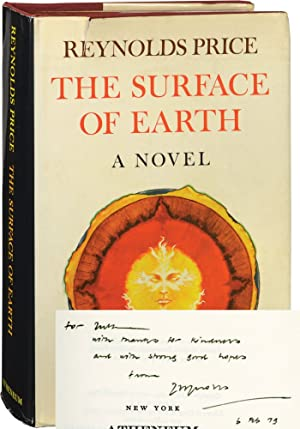 The Surface of Earth (Signed Hardcover, actress Ruth Ford's copy): Ford, Ruth] Price, Reynolds