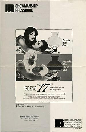 "Eric Soya's ""17"" (Original Film Pressbook): Soya, Eric [Carl Erik] (novel); Annelise..."