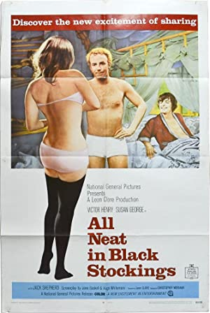 All Neat in Black Stockings (Original poster for the 1969 film)