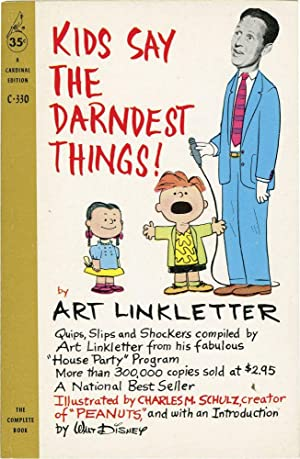 Kids Say the Darndest Things (Vintage Paperback): Linkletter, Art; Charles