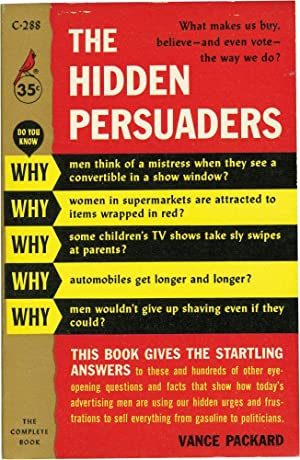 an analysis of the hidden persuaders by vance packard For this assignment, you must write a short essay on the issue of social conformity using at least twoprimary sources: vance packard's the status seekers.