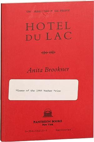 Hotel du Lac (Uncorrected Proof): Brookner, Anita