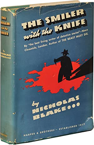The Smiler with the Knife (First Edition): Day-Lewis, Cecil writing as Nicholas Blake