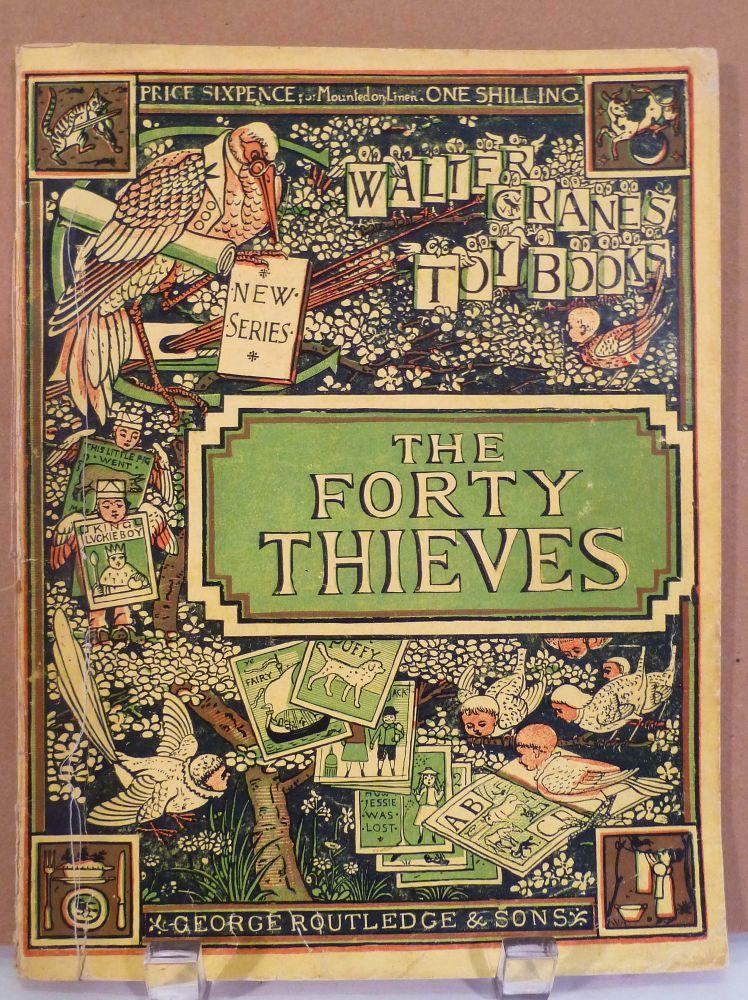 The Forty Thieves. New Sixpenny Toy Books: Crane, Walter