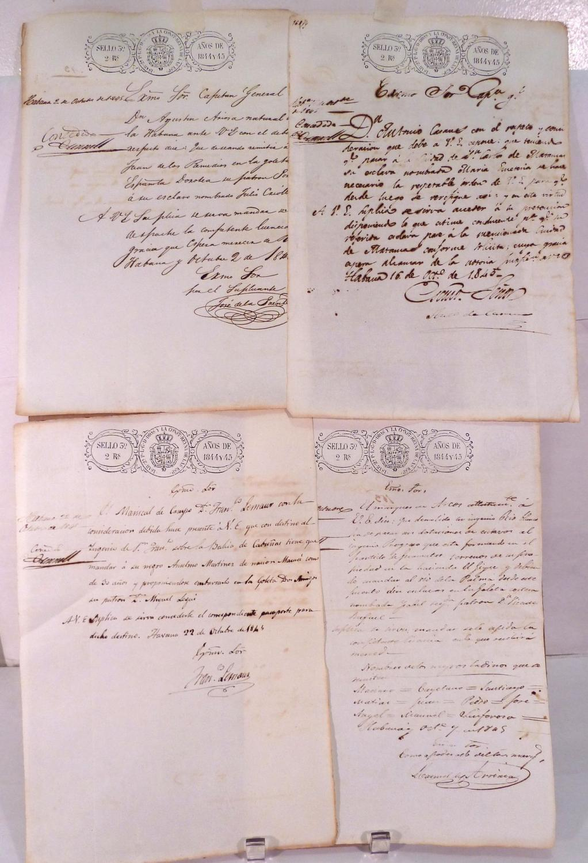 Slavery Documents: Isla de Cuba