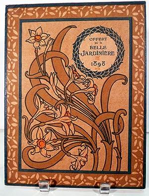 La Belle Jardiniere. Calendar for 1898: Paris. Imprimerie de Vaugirard