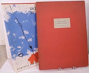 Peintures Murales de Miro; Derriere le Miroir 128: Miro, Joan