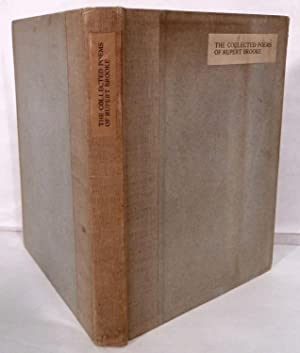The Collected Poems Of Rupert Brooke; The Title-Page And Portrait Cut On The Wood by C. Raverat: ...
